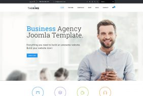 theking virtumart ecommerce business joomla template